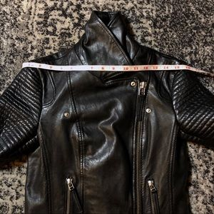 Whistles Jackets & Coats - Whistles Leather Moto Jacket